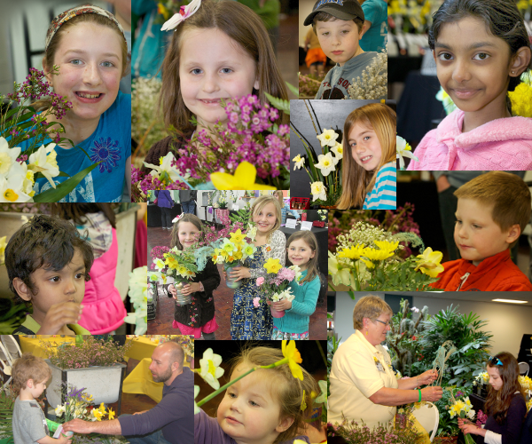 Kids at 2014 Daffodil Show