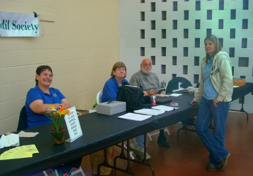 Saturday Volunteers at Sale